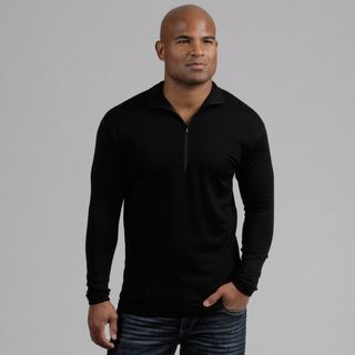 Minus33 Mens Allagash Merino Wool Lightweight 1/4 zip Base Layer