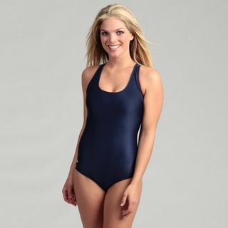 Speedo Womens Solid Ultraback One piece Swimsuit
