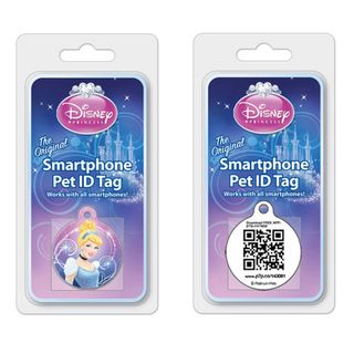 Platinum Pets Disney 1.5 Smartphone Pet ID Tag