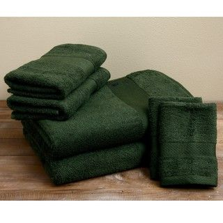 US Polo Association Egyptian Cotton Hunter 6 piece Towel Set