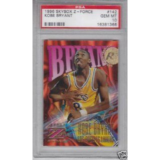 1996 Skybox Z Force #142 RC Rookie Kobe Bryant psa 10