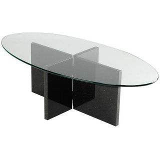 Black Galaxy Granite Coffee Table