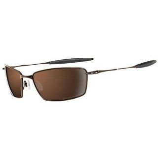 Oakley Unisex Whisker TI Square Burnt Copper Sport Sunglasses