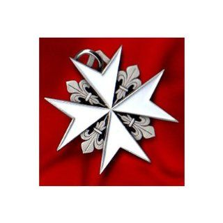 MALTESE CROSS MALTA KNIGHTS CHRISTIAN PENDANT NECKLACE