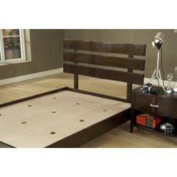 Verona Chocolate Brown Full size Platform Bed