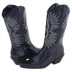 Matisse Freedom Blue Patent Boots