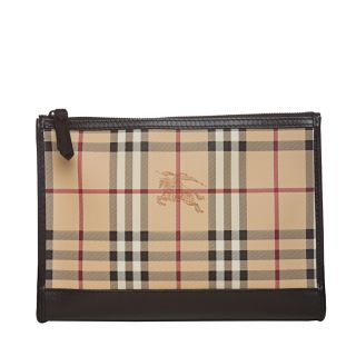 Burberry 3801745 Haymarket Check Cosmetic Case