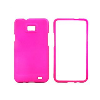 Premium Samsung Galaxy S II Hot Pink Protector Case