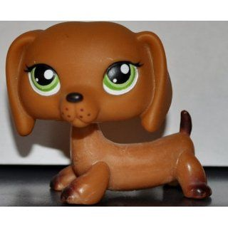 Dachshund #139 (Dog, Brown) Littlest Pet Shop 2005 (Retired) Collector