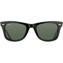 Ray Ban Unisex RB2140 Black/ Freedom Rare Prints Wayfarer Sunglasses