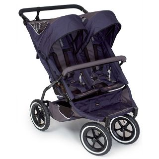 Phil and Teds Navy Blue E3 Twin Stroller