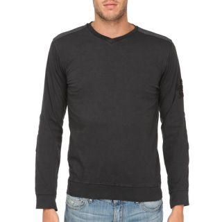 FRESH BRAND Pull Homme Noir Noir   Achat / Vente T SHIRT FRESH BRAND