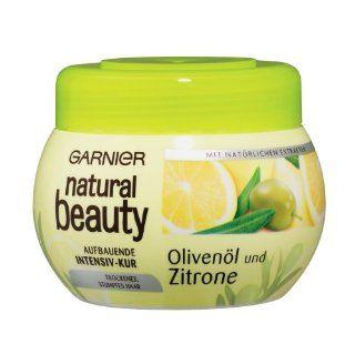 Garnier Natural Beauty Aufbauende Intensiv Kur Olivenöl/Zitrone, 300