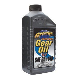 Spectro Heavy Duty Gear Oil 85W 140 1 Quart    Automotive