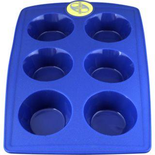 Smartware Silicone Bakeware Blue Cupcake Pan
