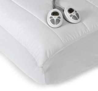 Mattress Pad, 140 Thread Count Poly/Cotton, White