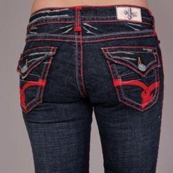 Laguna Beach Womens Aliso Beach Indigo Bootcut Jeans