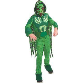 Kinder Kostüm Alien Krieger Soldat Schlange Spielzeug