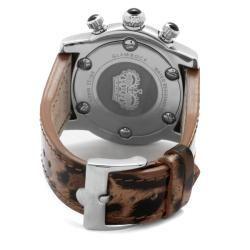 Glam Rock Womens Miami Maculate Genuine Leather Watch