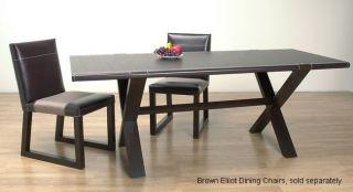Elliot Dark Brown Dining Table