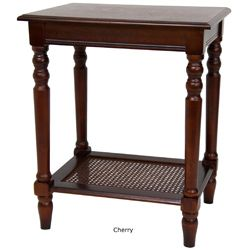 Wood 23 inch Classic Design Side Table (China)
