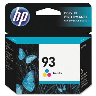 HP 93 C9361WN#140 Tri Color Ink Cartridge in Retail