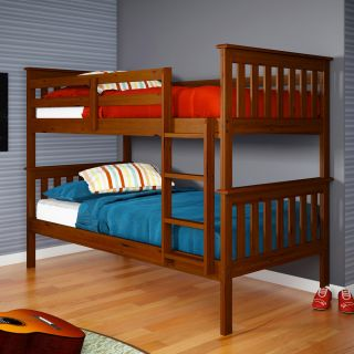 Twin/ Twin Espresso Finish Mission Bunkbed Today $405.99