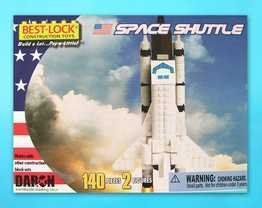 Space Shuttle 140 Piece Best Lock Construction Toy with