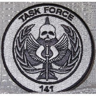 Modern Warfare Task Force 141 Logo Embroidered PATCH: Everything Else