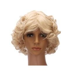 Cosplay New Pretty Short Curly Women Full Wig