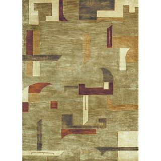 New Zealand Wool Sage/ Multi Rug (8 x 11)