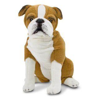 Melissa & Doug English Bulldog   Plush (Plüsch Weiche Spielzeuge