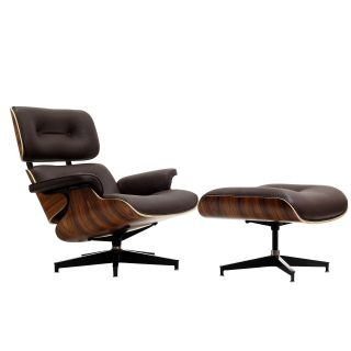 Eaze Brown Leather/ Palisander Wood Lounge Chair Today $938.99 5.0 (3