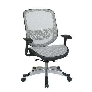 Office Star White DuraFlex with Flow thru Technology Back and Seat