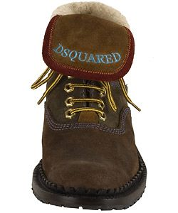 DSquared Suede Mens Hiking Boots