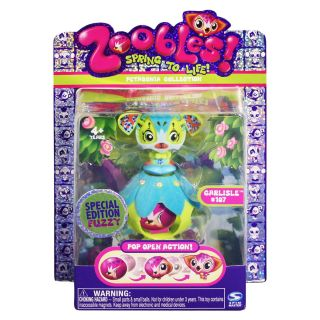 Zoobles Special Edition Cat and Happitat Toy