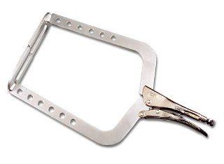 Grip On 145 20 20 Inch Aluminum Alloy U Clamp Locking Pliers