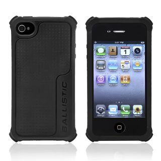 Black Ballistic Apple iPhone 4/ 4S Lifestyle Case SA0722 M005