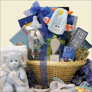 Great Arrivals Congratulations Baby Boy Gift Basket Today $150.99