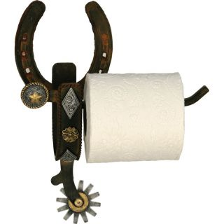 Rivers Edge Cast Iron Spur Wall Mount Toilet Paper Holder Today $29