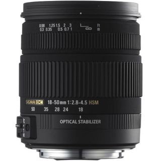 Sigma 18 50mm F2.8 4.5 DC OS HSM Lens For Canon