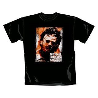 Texas Chainsaw Massacre   Leather Face   T Shirts   schwarz   Größe