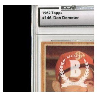 1962 Topps #146 Don Demeter   GAI NmMt (8): Collectibles