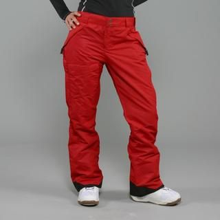 Pulse Womens Rider Red Snowboard Pants