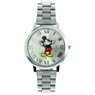 Citizen Womens Eco Drive White Dial Mickey Mouse Watch