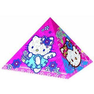 Puzzle 3 D pyramide   240 pièces  Hello Kitty   Achat / Vente PUZZLE