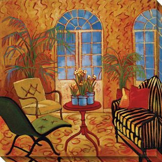 Cecile Broz Sunroom with Narcissus Giclee Canvas Art Today $100.99