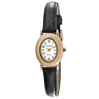 Timetech Womens Leather Strap Watch