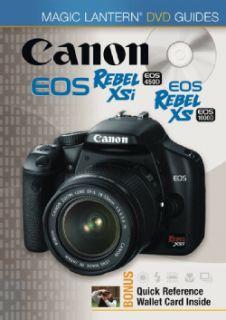 Canon Rebel Xsi, Eos 450d Canon, Eos Rebel Xs, & Eos 1000d (DVD