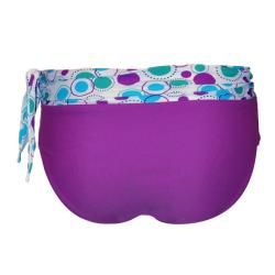 Divinita Sole Womens Purple and Sash Bikini Bottoms